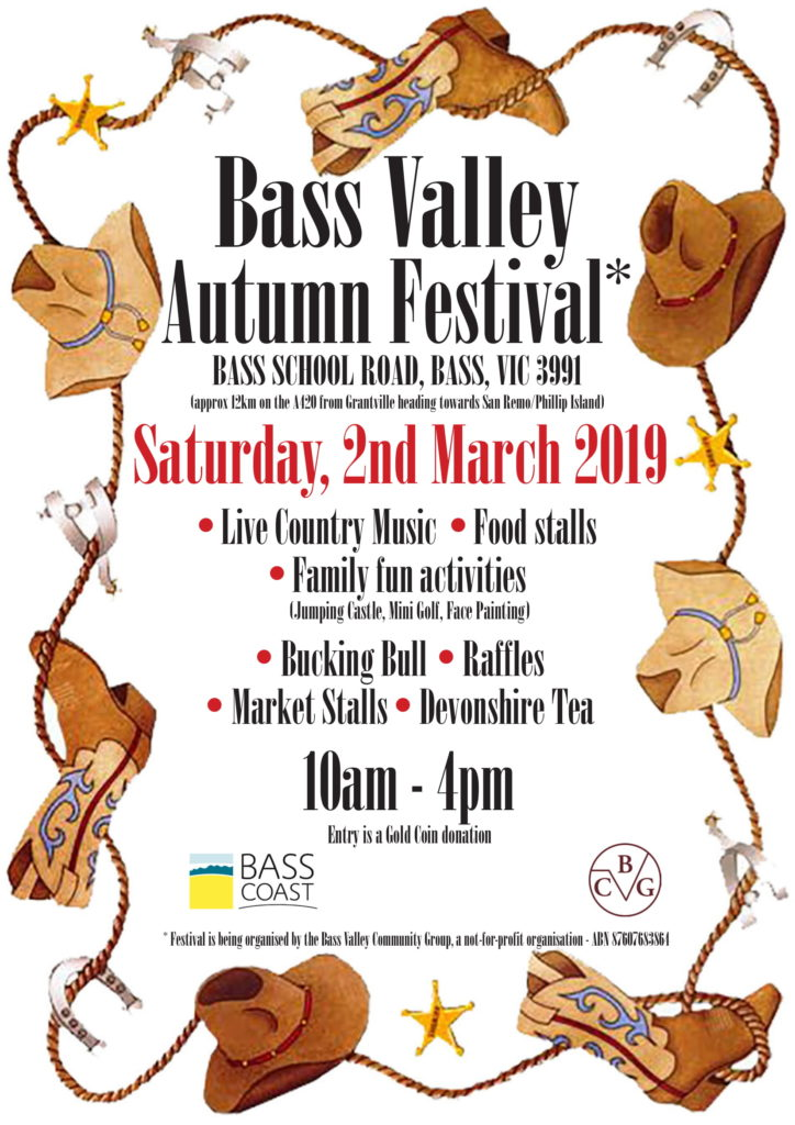 Bass Valley Autumn Festival Flyer