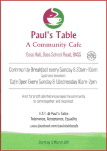 Paul's Table Brochure