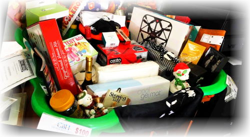 BVCG Christmas raffle - $1500.00 worth of goodies in a basket