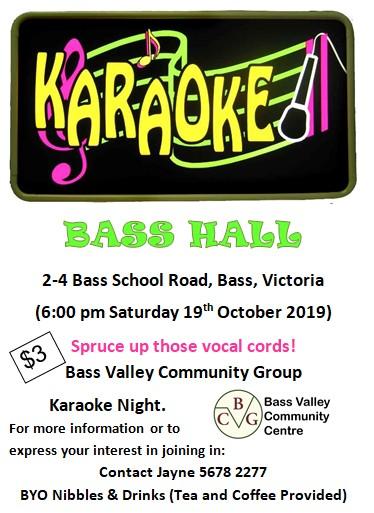 Bass Valley Autumn Festival Flyer