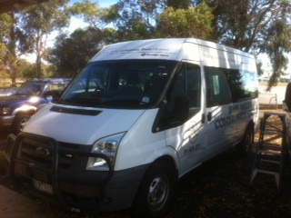 Bass Valley Community Bus donated by Bendigo Bank